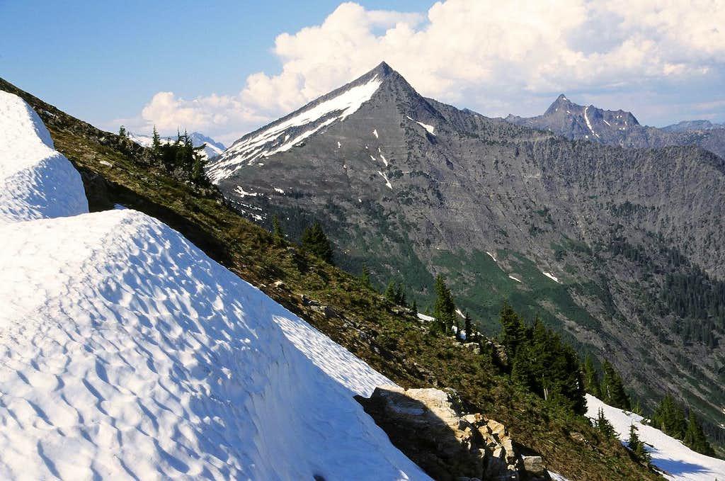 Whittier Peak from Poet's Ridge Trail
