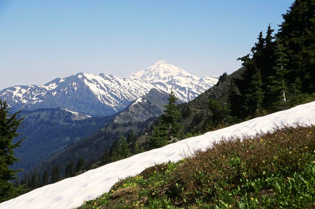 Traveling along Poet's Ridge