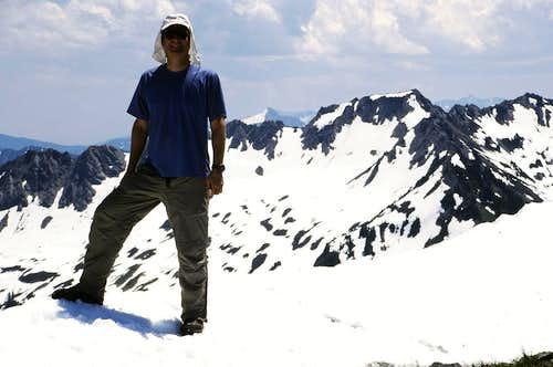 Summit of Bryant Peak