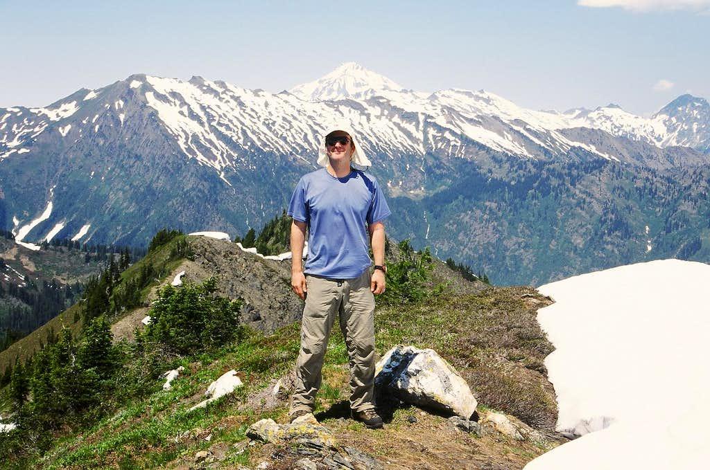 Summit view from Bryant Peak
