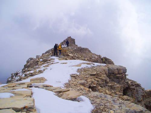 Chief Mountain summit
