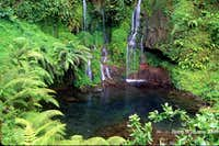 Kilimanjaro waterfall