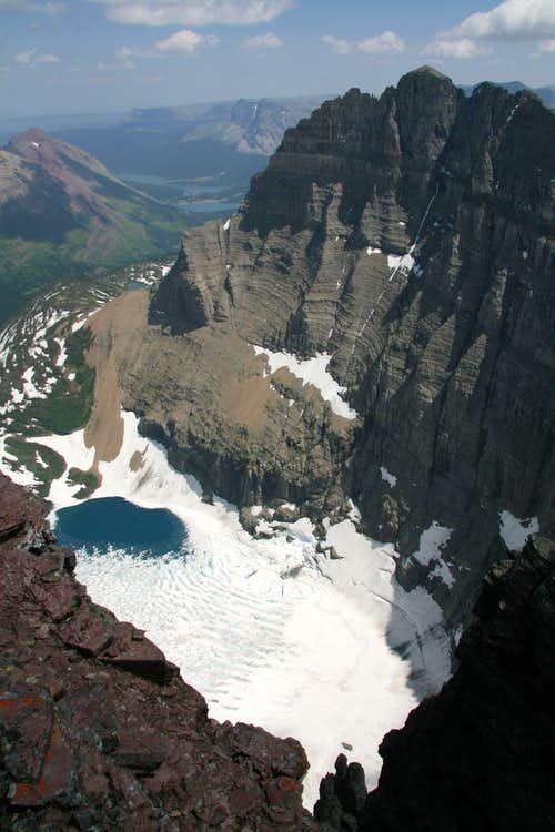 Iceberg Lake and Mt. Wilbur