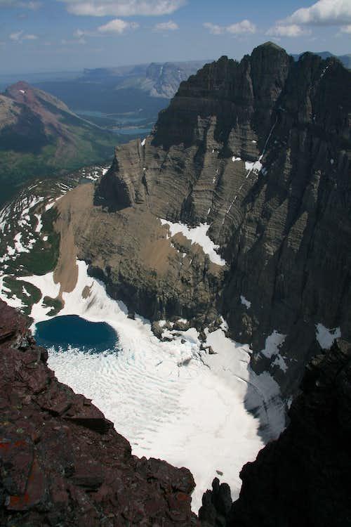 Iceberg Lake and Mt. Wilbur