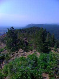 Eagles Peak from the summit of Mount Herman