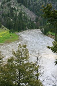 View of Yellowstone River