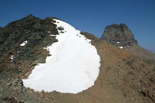 South Iceberg Peak  and Mt. Wilbur