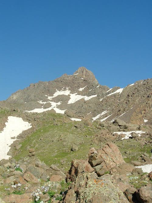 Wetterhorn Peak- back to the San Juans