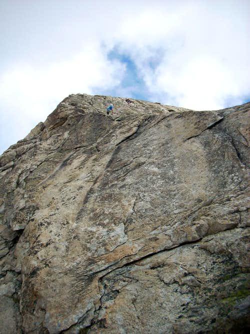Bergseeschijen - Start to S-grat
