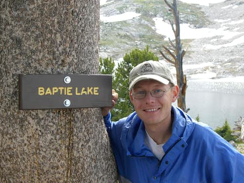 Me at Baptie Lake