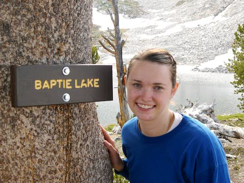 Brittany at Baptie Lake