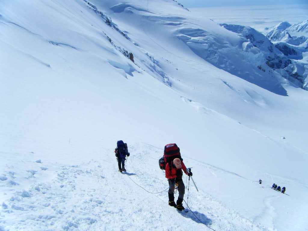 Denali - Ascending the Headwall