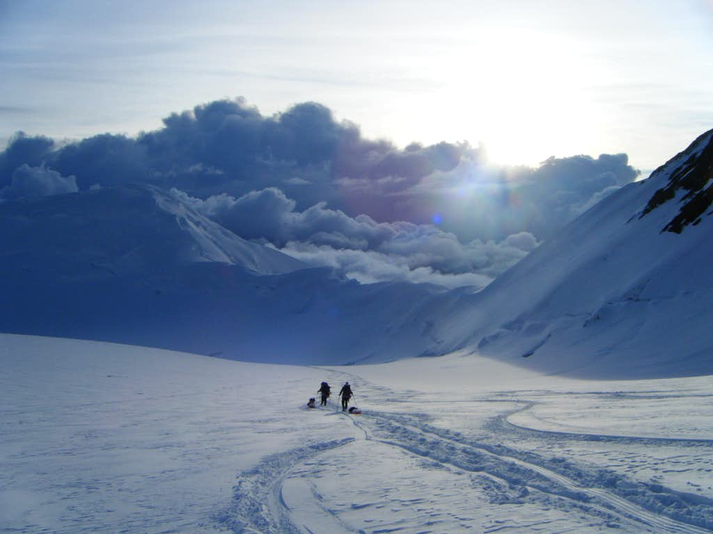 Denali - Descent to Base Camp