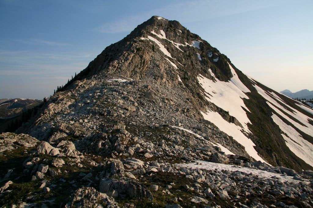 Teton Peak-- Summit Ridge
