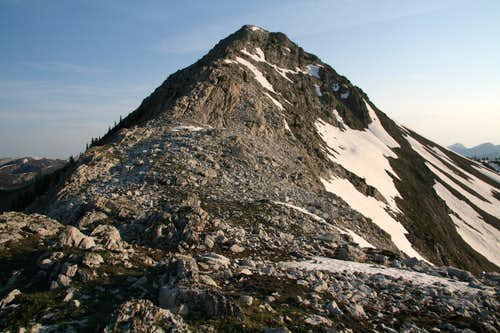 Teton Peak-- Summit Ridge