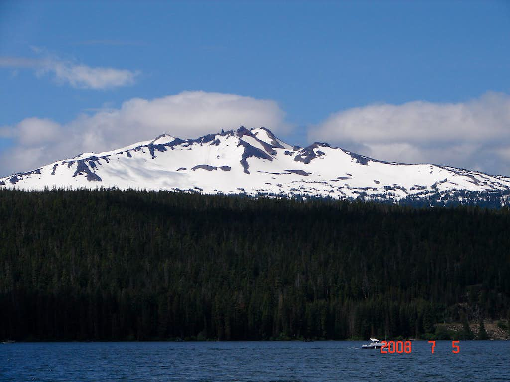 View From Odell Lake