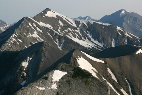 Mount Lockhart and Mount Wright