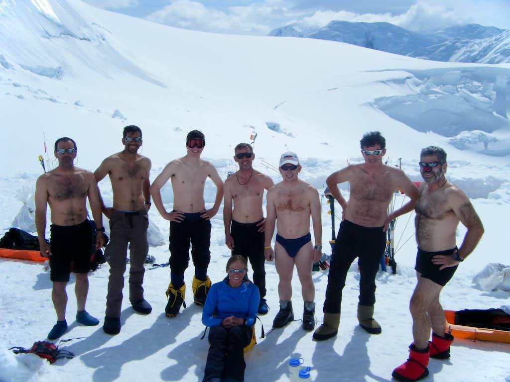 Denali - A Warm Day at Camp 2