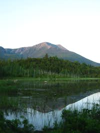 Evening Shot of Katahdin