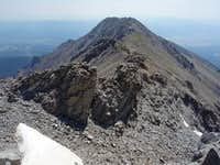 Mount Shavano, Tabeguache Peak, Point 13,712, and Jones Peak