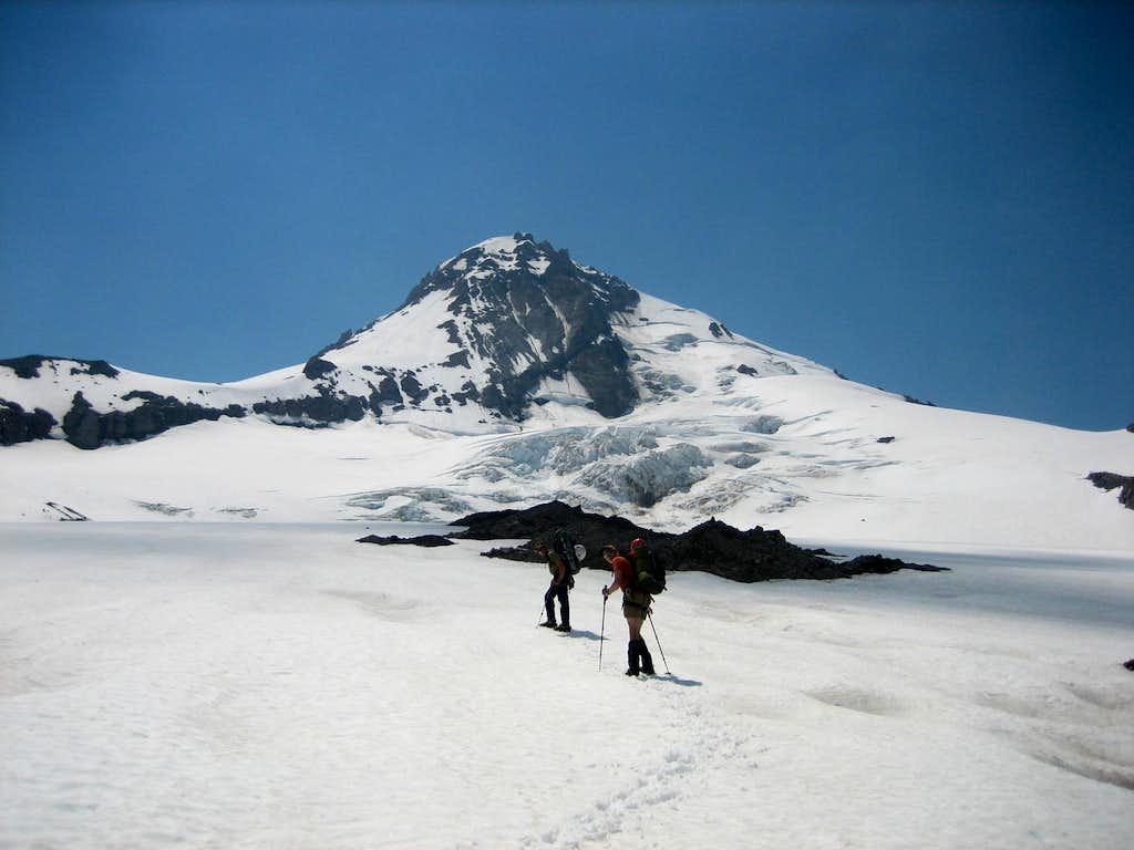 Eliot Glacier Icefalls