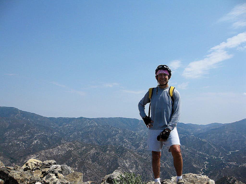 On Summit of Josephine Pk. (5,558')