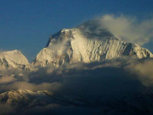 dhaulagiri,8167metres.