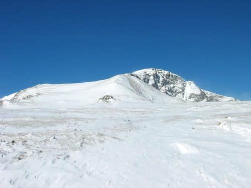 James Peak from tundra above...