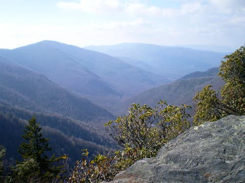 View from Chimney Tops