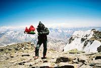 Aconcagua 2003 The summit