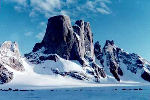 A beautiful shot of Mt....