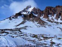 Route to Kazbek summit