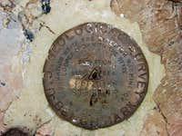 Stevens USGS Survey Marker
