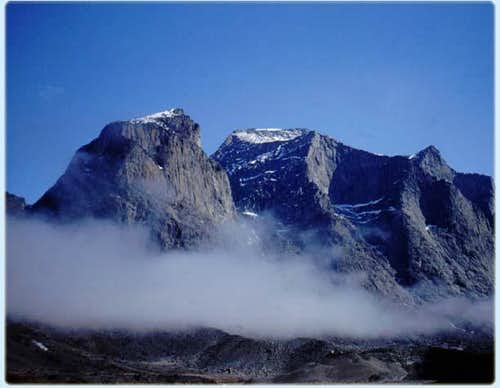 This is ashot of Mt. Odin...