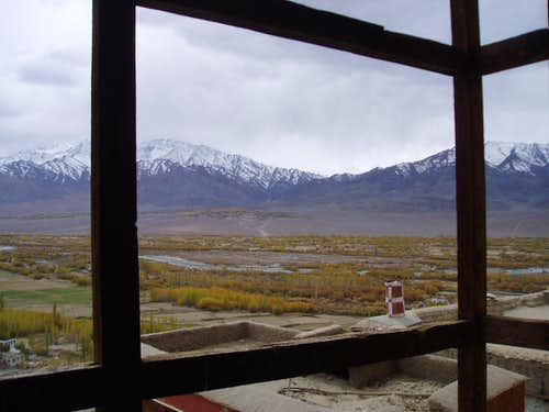 View over Ladakh