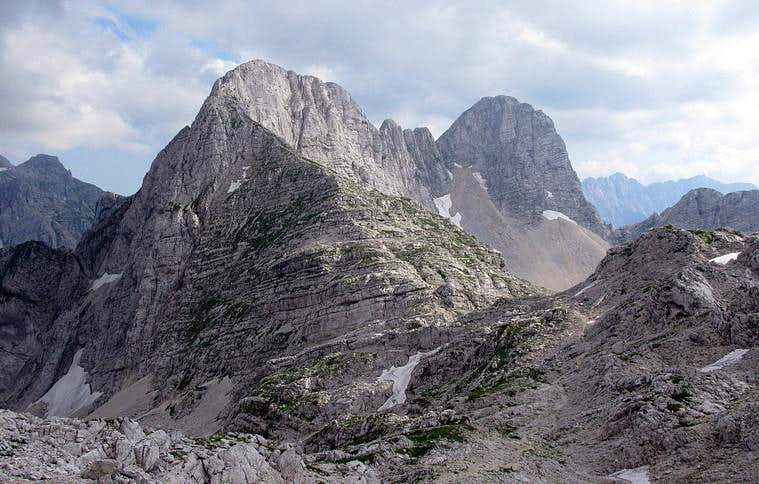Bovski Gamsovec By the North Ridge