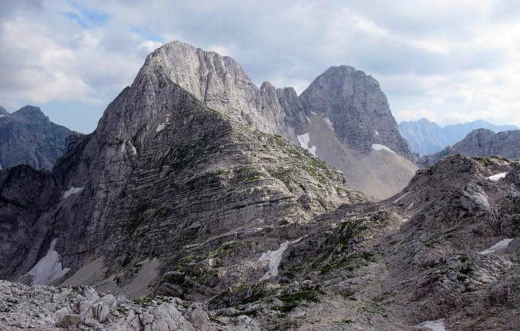 Bovški Gamsovec (2.392 mtrs)