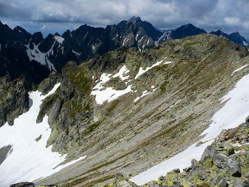 On the summit of Svišťový štít (2382 m)