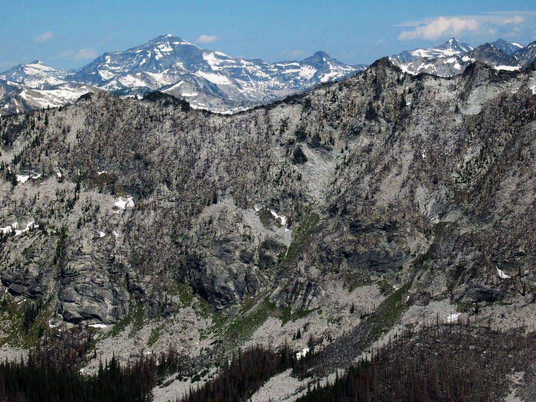 Ridges of Bare Peak