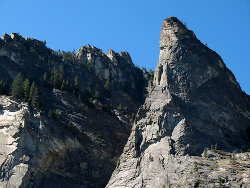 Blodgett Canyon Spire