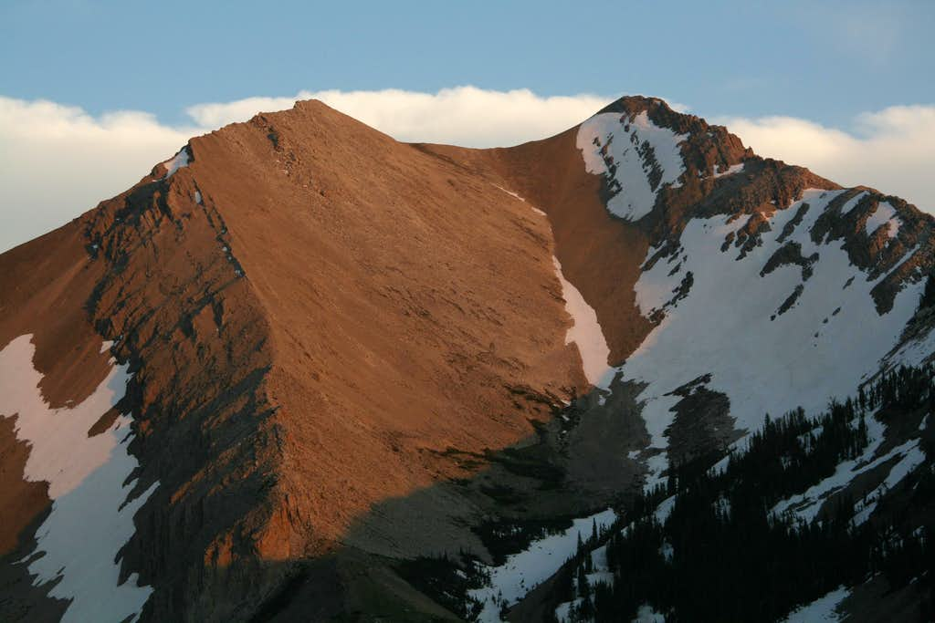 Old Baldy and Alpenglow