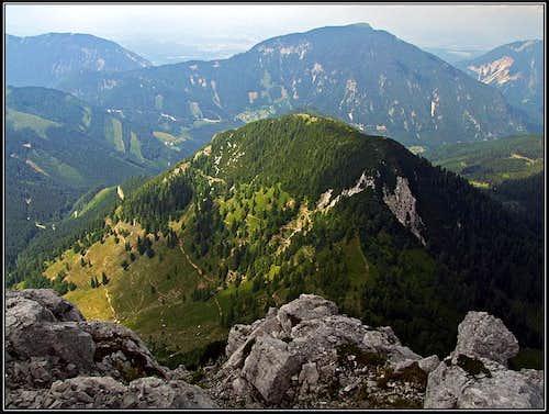 Kosutica / Loibler Baba N view