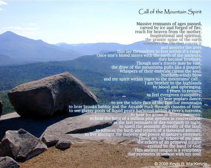 Call of the Mountain Spirit