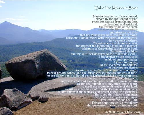 Call of the Mountain Spirit