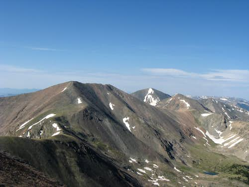 Vermejo Peak and Purgatoire Peak