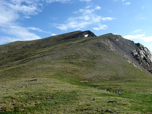 South ridge of