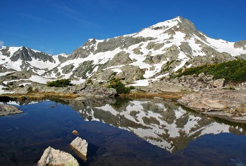 Unnamed Peak reflection