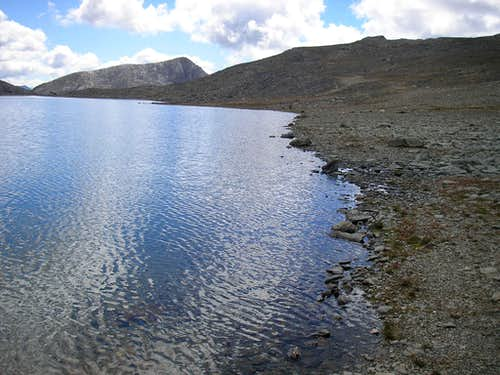 Lake by the Piz Albris 3165m