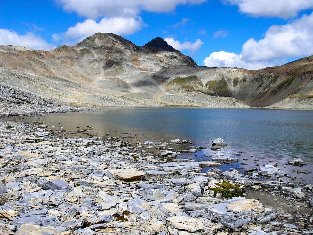 Lake by the Piz Albris 3165m