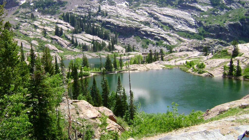 Lake Florence and Lake Lillian